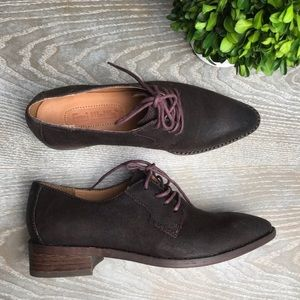 Anthropologie | GEE Wawa 100% Leather Oxfords 7